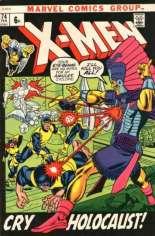 Uncanny X-Men (1963-2011) #74 Variant B: UK Edition