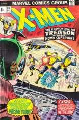 Uncanny X-Men (1963-2011) #85 Variant B: UK Edition