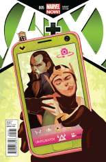 A + X (2012-2014) #5 Variant B: Incentive Cover