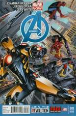 Avengers (2012-2015) #3 Variant E: 2nd Printing