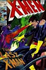 Uncanny X-Men (1963-2011) #59 Variant B: UK Edition
