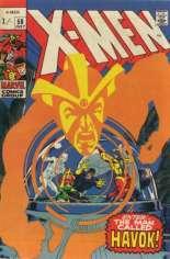 Uncanny X-Men (1963-2011) #58 Variant B: UK Edition