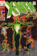 Uncanny X-Men (1963-2011) #55 Variant B: UK Edition; Pricing Note: 1/- = 1/20 GBP