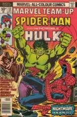 Marvel Team-Up (1972-1985) #53 Variant B: UK Edition