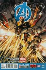 Avengers (2012-2015) #4 Variant C: 2nd Printing