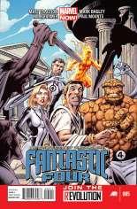Fantastic Four (2012-2014) #5 Variant A