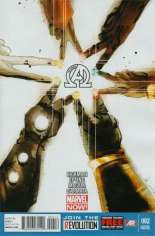 New Avengers (2013-2015) #2 Variant C: 2nd Printing