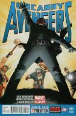 Uncanny Avengers (2012-2014) #3 Variant C: 2nd Printing