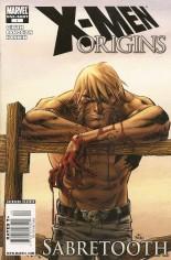 X-Men Origins: Sabretooth (2009) #One-Shot Variant A: Newsstand Edition