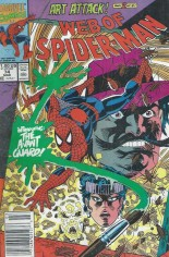 Web of Spider-Man (1985-1995) #74 Variant A: Newsstand Edition