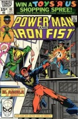 Power Man and Iron Fist (1978-1986) #65 Variant C: UK Edition