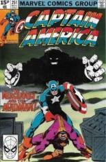 Captain America (1968-1996) #251 Variant C: UK Edition
