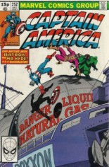 Captain America (1968-1996) #252 Variant C: UK Edition