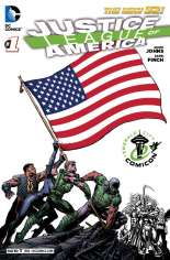 Justice League of America (2013-2014) #1 Variant ZZC: ECCC Exclusive
