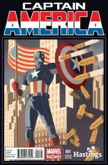 Captain America (2012-2014) #1 Variant J: Hastings Exclusive