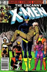Uncanny X-Men (1963-2011) #167 Variant A: Newsstand Edition