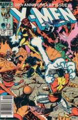 Uncanny X-Men (1963-2011) #175 Variant A: Newsstand Edition