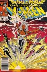 Uncanny X-Men (1963-2011) #227 Variant A: Newsstand Edition