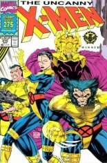 Uncanny X-Men (1963-2011) #275 Variant A: Newsstand Edition; Gatefold Cover