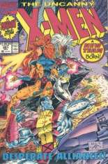 Uncanny X-Men (1963-2011) #281 Variant A: Newsstand Edition; Wraparound Cover