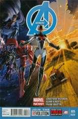 Avengers (2012-2015) #5 Variant D: 2nd Printing