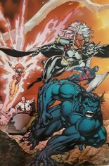 X-Men (1991-2001, 2004-2008) #1 Variant Q: Mexico Foil Edition, Beast/Storm/Jean Grey/Professor X Cover