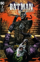Batman: Who Laughs (2019) #2 Variant E: Unknown Comics Trade Dress Variant