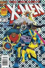 Uncanny X-Men (1963-2011) #300 Variant A: Newsstand Edition; Silver Metallic Enhanced Cover