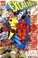 Excalibur (1988-1998) #82 Variant A: Newsstand Edition; Prismatic Foil Wraparound Cover