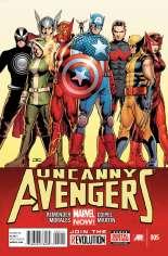 Uncanny Avengers (2012-2014) #5 Variant A