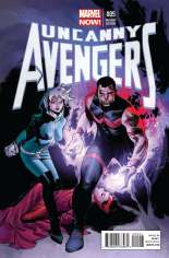 Uncanny Avengers (2012-2014) #5 Variant B: Incentive Cover