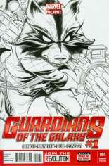 Guardians of the Galaxy (2013-2015) #1 Variant F: Sketch Cover