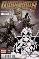 Guardians of the Galaxy (2013-2015) #1 Variant H: Texts from Deadpool Sketch Cover; Limited to 1 Per Store