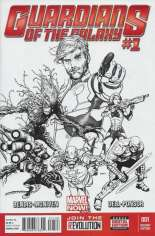 Guardians of the Galaxy (2013-2015) #1 Variant R: Sketch Cover