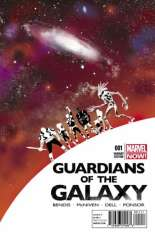 Guardians of the Galaxy (2013-2015) #1 Variant U: Detroit Comic Book Stores Exclusive