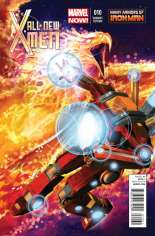 All-New X-Men (2013-2015) #10 Variant B: Many Armors of Iron Man Cover