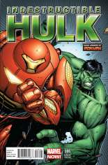 Indestructible Hulk (2013-Present) #6 Variant B: Many Armors of Iron Man Cover
