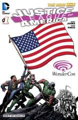 Justice League of America (2013-2014) #1 Variant ZZD: WonderCon Exclusive