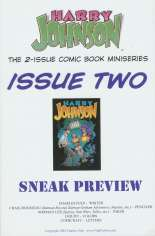 Harry Johnson (2004) #2 Variant B: Preview Edition