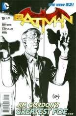 Batman (2011-2016) #19 Variant D: Sketch Cover