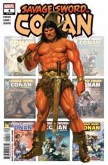 Savage Sword Of Conan (2019-2020) #4 Variant A