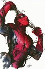 Symbiote Spider-Man (2019) #1 Variant R: Scorpion Comics Virgin Variant
