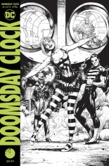Doomsday Clock #6 Variant C: Final Printing