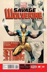 Savage Wolverine (2013-2014) #4 Variant A