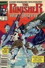 Punisher: War Journal (1988-1995) #7 Variant A: Newsstand Edition