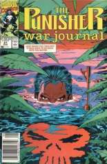 Punisher: War Journal (1988-1995) #21 Variant A: Newsstand Edition