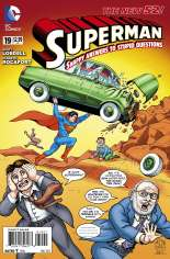 Superman (2011-2016)  #19 Variant B: MAD Cover
