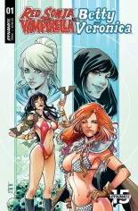 Red Sonja and Vampirella Meet Betty and Veronica #1 Variant E
