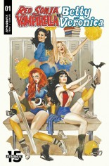 Red Sonja and Vampirella Meet Betty and Veronica #1 Variant A