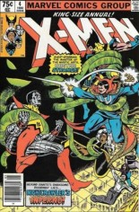 Uncanny X-Men (1963-2011) #Annual 4 Variant A: Newsstand Edition